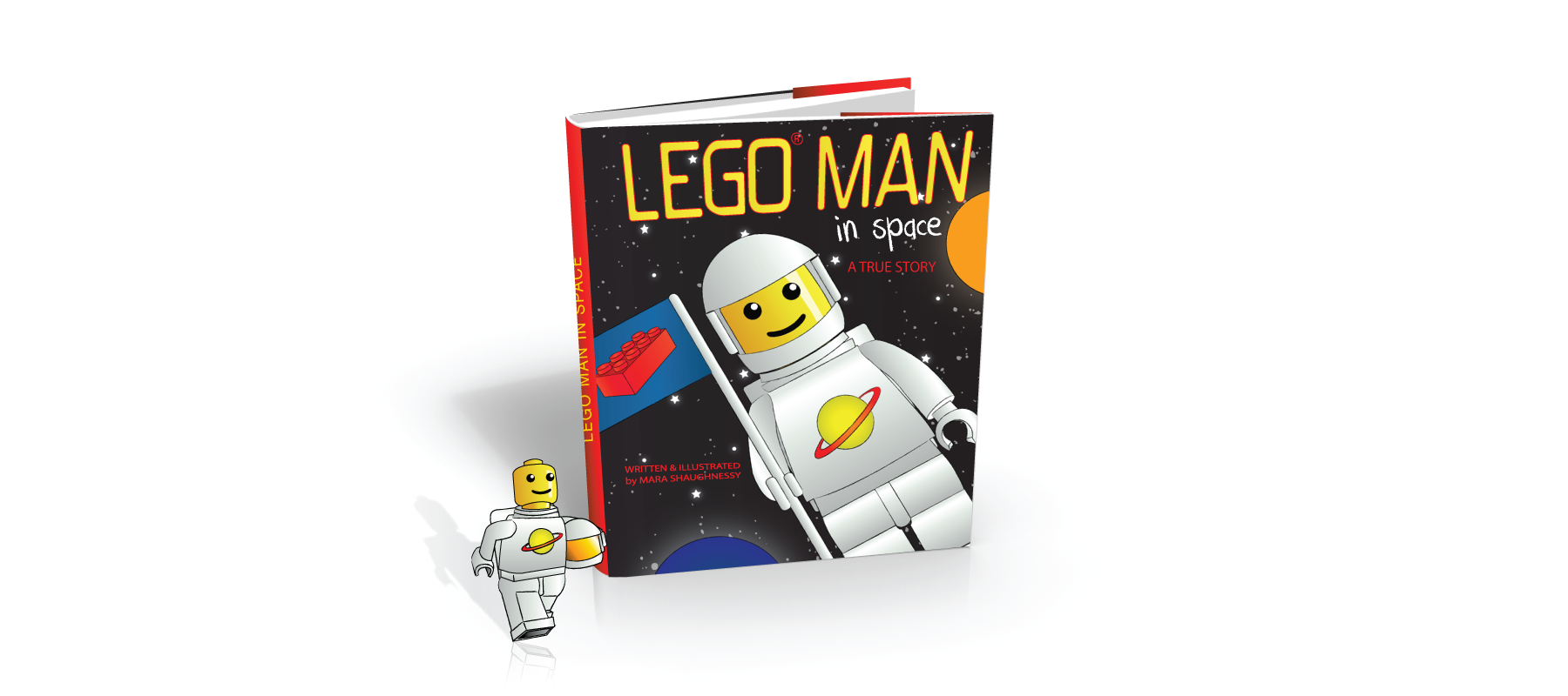 Kids' Book: Lego Man in Space – Little Monster