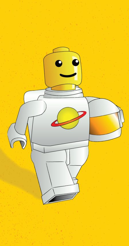 Kids' Book: Lego Man in Space